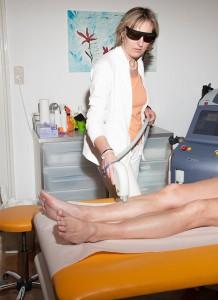 Dr. Haidinger - Behandlung mit Laser