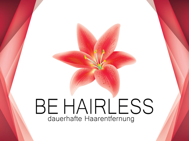 Be Hairless Logo